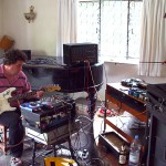 rehearsing with Chris Meloche 2006